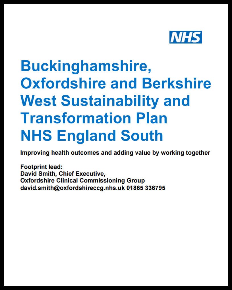 leaked STP document for Berks, Oxon and Bucks