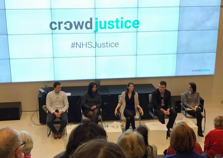 The CrowdJustice panel, 20 February 2018