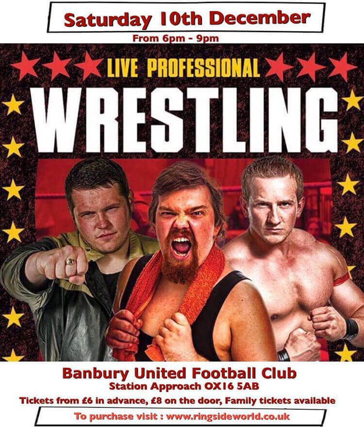 wrestling 10 December 2016 Banbury United Football Club