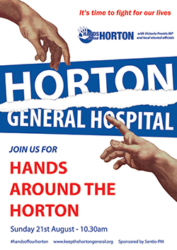 Hands Around the Horton poster