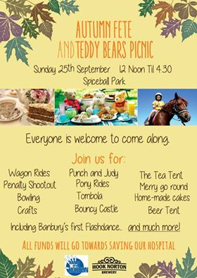 teddy bears picnic poster 25 september 2016